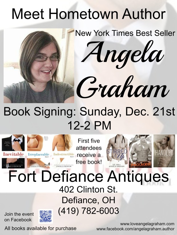 Angela Graham Book Signing Flyer